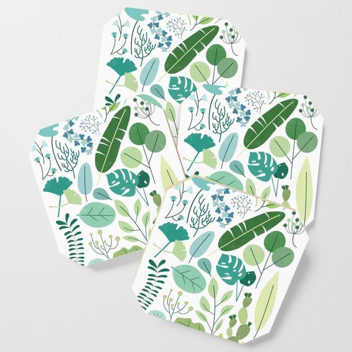 Botanical Chart Coaster