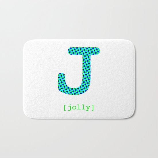 #J [jolly] Bath Mat