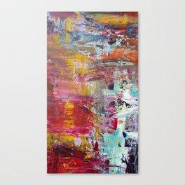 Sun Rise River Turn Canvas Print