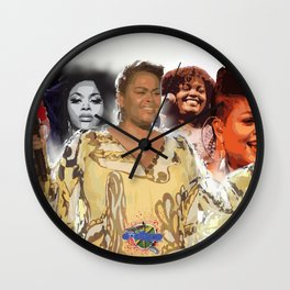 Jill Scott Wall Clock
