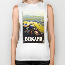 1920s Bergamo Italy travel Biker Tank
