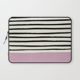 Dusty Rose & Stripes Laptop Sleeve