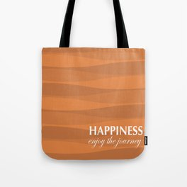 Orange for Happiness Tote Bag