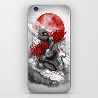 dragon iPhone & iPod Skins featuring Dragon by Marine Loup