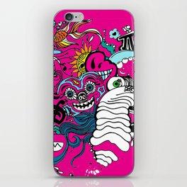 Doodle Graffitti iPhone Skin