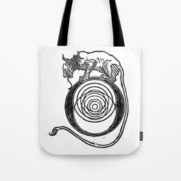 Atomic Resonance Tote Bag