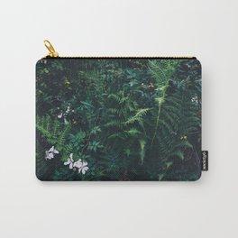 Fleurs Vertes Carry-All Pouch