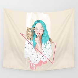 Shhh... Wall Tapestry