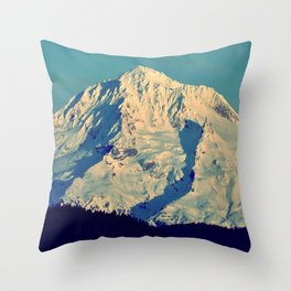 MT. HOOD - AT TWILIGHT Throw Pillow