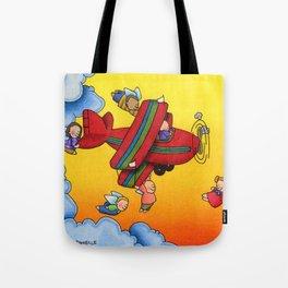 Angel Flight Tote Bag
