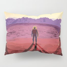 NASA Retro Space Travel Poster #8 Kepler 16b Pillow Sham