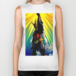 THE SYMBOL OF PEACE - ALL MIGHT Biker Tank