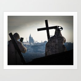Guardians of Rome Art Print