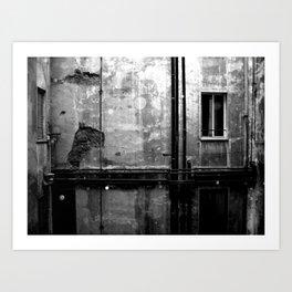Alleyways & Shadows Art Print