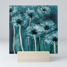 Dandelion Wishes Mini Art Print