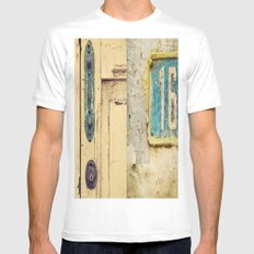 The Door SMALL White Mens Fitted Tee