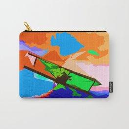 Biplane Aerobatics Carry-All Pouch