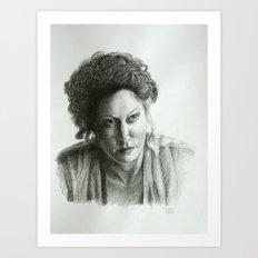 Ros Art Print