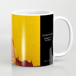 """Budapest"" Illustration Toni Demuro Coffee Mug"