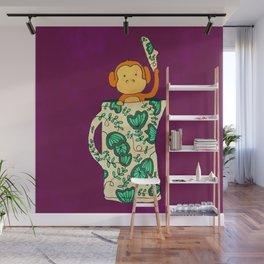 Dinnerware sets - Monkey in a jug Wall Mural