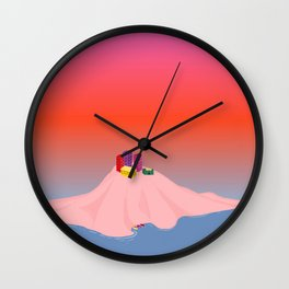 Isolate // Suffocate Wall Clock
