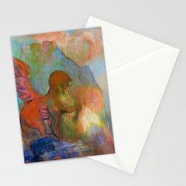 "Odilon Redon ""Pegasus"" Stationery Cards"