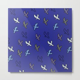 flying birds Metal Print