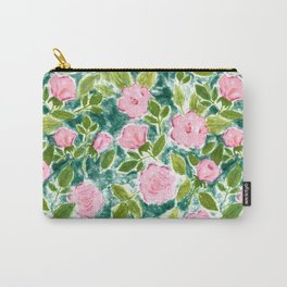 Roses in Bloom Carry-All Pouch