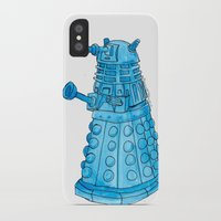 dalek iPhone & iPod Cases featuring Dalek by Margret Stewart