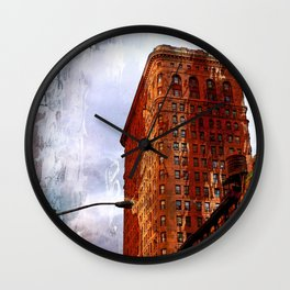 Broadway NYC series by Lika Ramati Wall Clock
