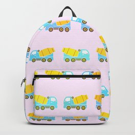 Toy truck pattern Backpack