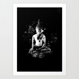 Enlightened Buddha Art Print