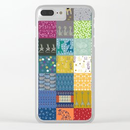 Patchwork from FishCard: 100 images in one Clear iPhone Case