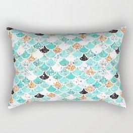 Audrey Mermaid Pattern 09 Rectangular Pillow