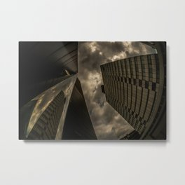 Big Houses Metal Print