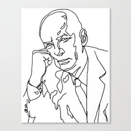 Vladimir Nabokov Canvas Print