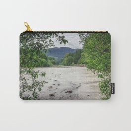 White River in Washington State Carry-All Pouch