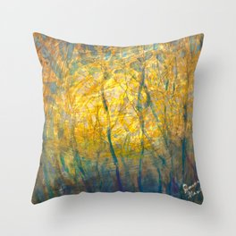 Gleam of Light Throw Pillow