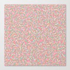 Boomerang Pink Canvas Print