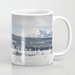Gallatin Mountains Coffee Mug