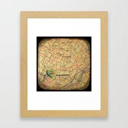 All Mine Philly Framed Art Print