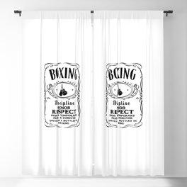 Boxing Logo Blackout Curtain