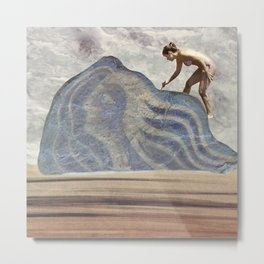 Rebuilding Avatar on the Beach Metal Print