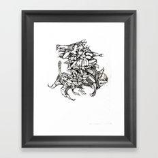 Complex Carcass Framed Art Print