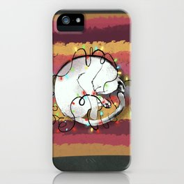 CatChristmas iPhone Case