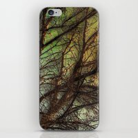 psychadelic iPhone & iPod Skins featuring Psychadelic Tree by Jeanne Hollington