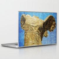 angel wings Laptop & iPad Skins featuring angel wings by Kristen Mintz