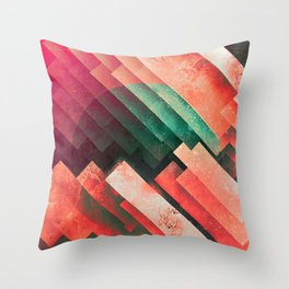 cylyr fyylds Throw Pillow