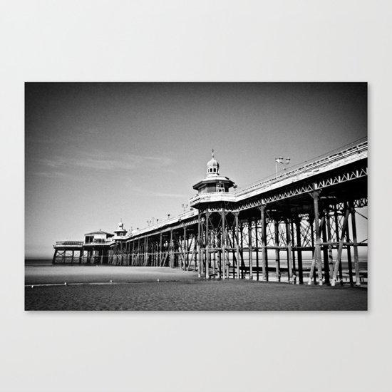 North Pier Blackpool Canvas Print