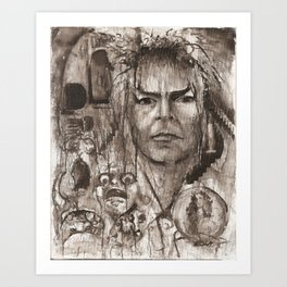 THE LABYRINTH 3 Art Print